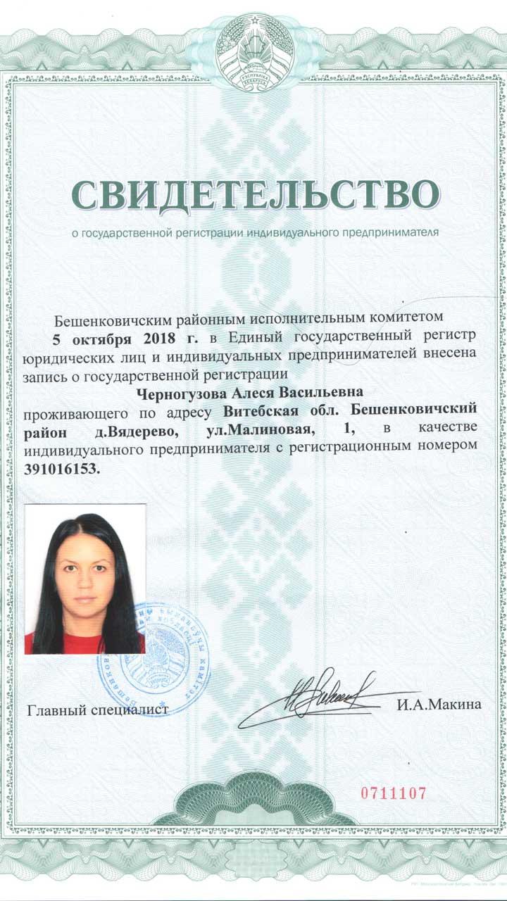 ИП Черногузова Алеся Васильевна